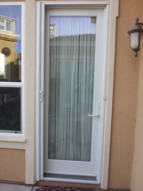 mirage retractable screen door modern screen doors