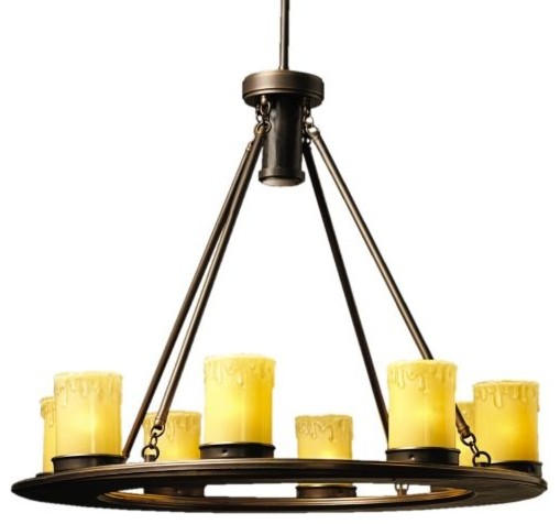 Oak Trail Outdoor Chandelier - traditional - outdoor lighting ...