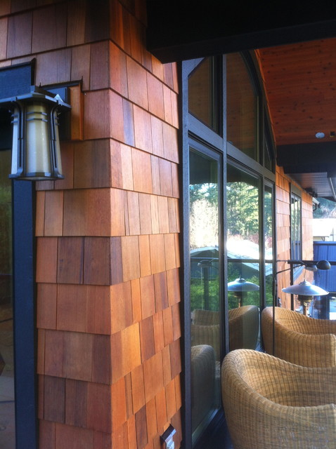 Cedar Siding Traditional Vancouver By Black Tree