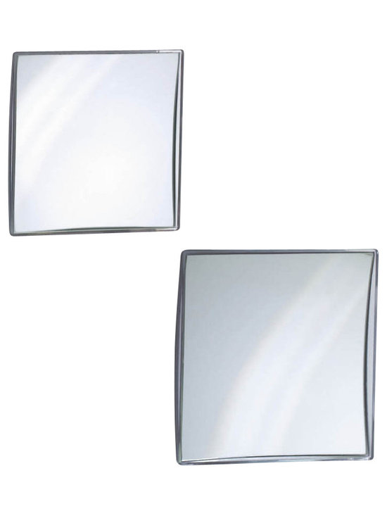 WS Bath Collections - Smile 315/316 Magnifying Mirror - Smile 315/316 Magnifying Makeup Mirror, 5x Magnification