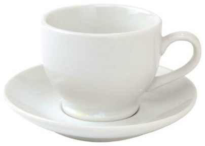 traditional cups and glassware by Sur La Table