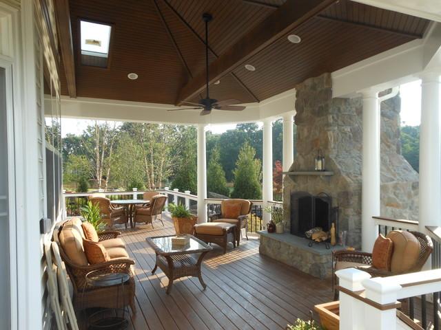 Outdoor Buildings traditional-porch