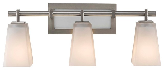 "Contemporary Feiss Clayton 22 1/4"" Wide Bathroom Wall Light contemporary-bathroom-vanity-lighting"