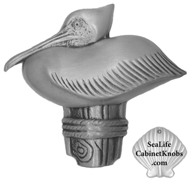 Pelican Cabinet Knobs beach-style