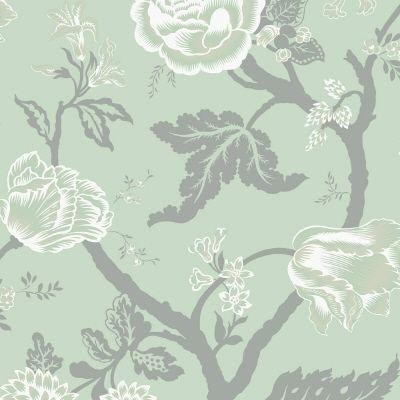 Sea breeze large floral trail wallpaper wallpaper by for Wallpaper company home depot