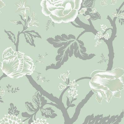 sea breeze large floral trail wallpaper wallpaper by