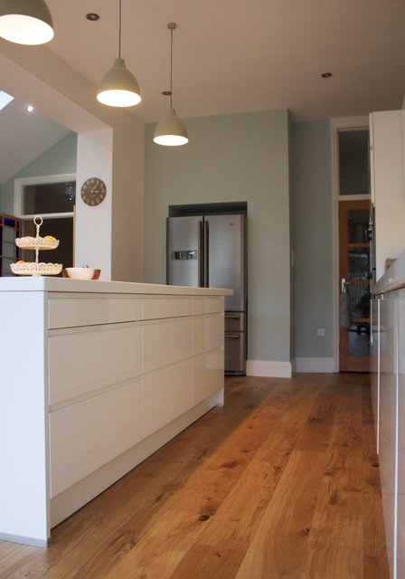 Kitchen Extension & Internal Remodelling contemporary-kitchen