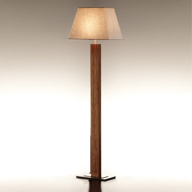Bover Tau Wood Floor Lamp Modern Table Lamps By