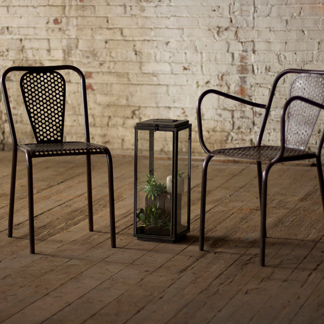 Tic Metal Arm Chair eclectic-chairs