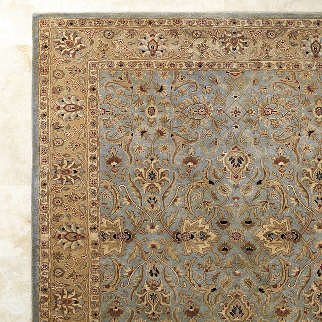 wool area rugs traditional rugs by frontgate