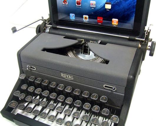 USB Typewriter Computer Keyboard Royal desk-accessories