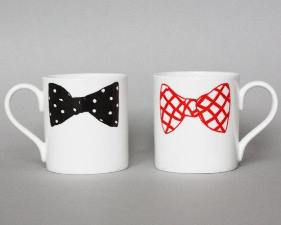Bow Tie Mugs -
