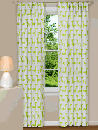 Stretch Curtains eclectic curtains