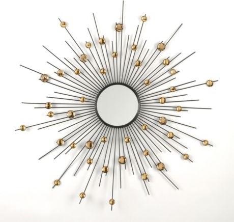 Acrylic Sunburst Mirror modern-mirrors
