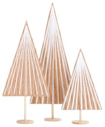 Modern Holiday Accents And Figurines by Paige Russell