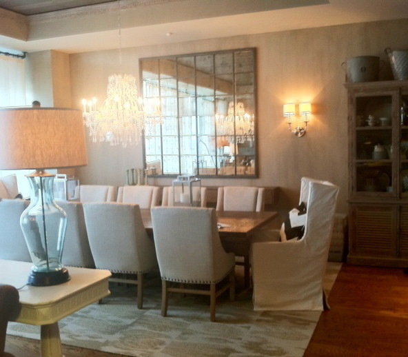Eclectic Dining Room Tables: Elegant Rustic Dining Room Tables