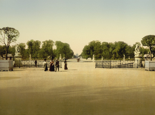 The Tuileries and Champs-Elysees, Paris, 1900 by 20x200 Artist Fund contemporary artwork