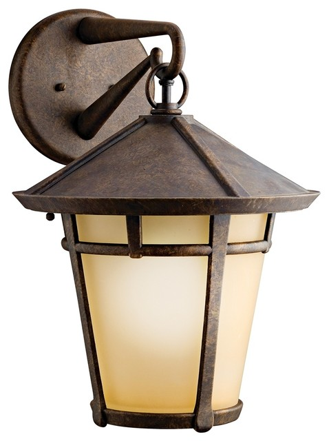Arts And Crafts Mission Kichler Melbern 18 High Outdoor Wall Light
