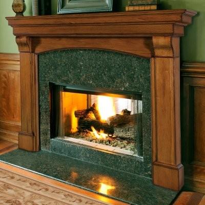 Pearl Mantels Blue Ridge Arched Fireplace Surround modern-fireplace-mantels
