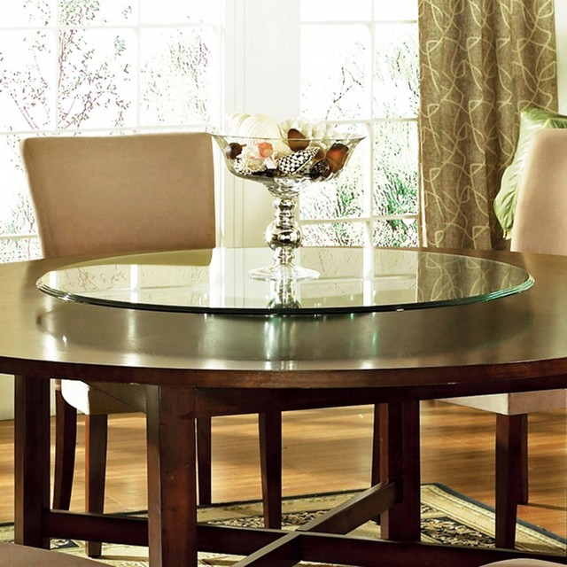 Dining Table Dining Table With Built In Lazy Susan