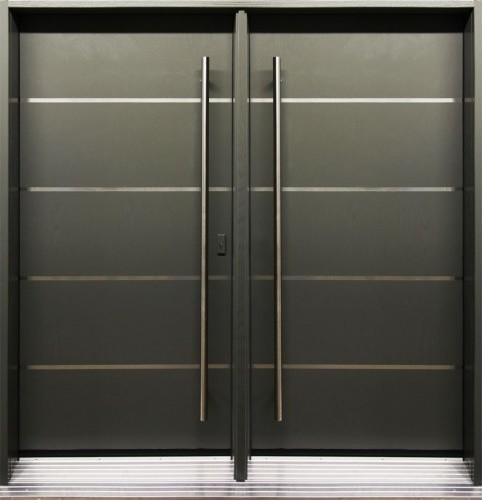 Modern front entry doors modern front doors toronto for Contemporary entry doors