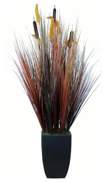 Laura Ashley Realistic Onion Grass Plant - Contemporary ...