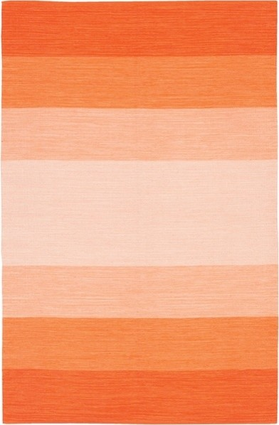 Orange Ombre India Rug by Chandra Rugs modern-rugs