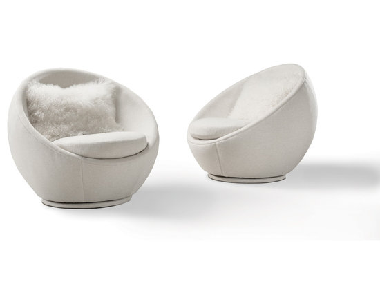 The Good Egg Swivel Chair by Milo Baughman from Thayer Coggin - Thayer Coggin, Inc.