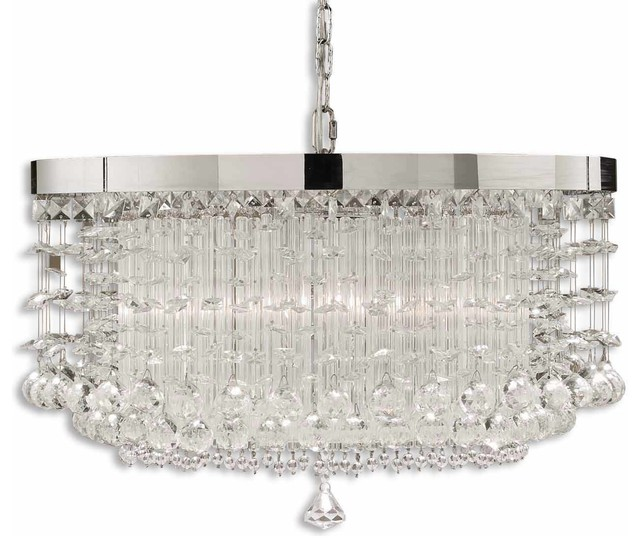 Fascination 3-Light Crystal Chandelier contemporary-chandeliers