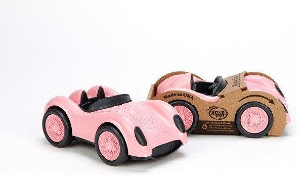 Green Toys Race Car - Pink - Modern - Baby And Toddler Toys - portland - by fawn&forest