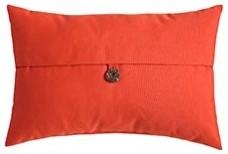 Oblong Terracotta Pillow modern-decorative-pillows