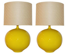 Pair of Ceramic Table Lamps modern-table-lamps