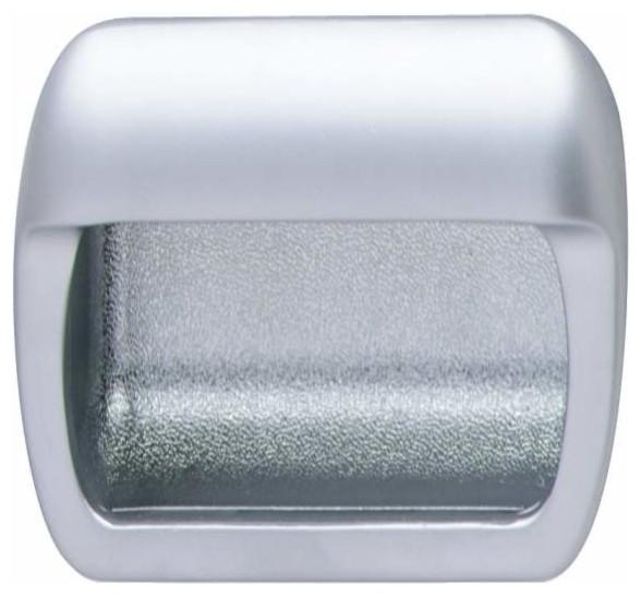 Hafele: Mortise Pull: Zinc: Chrome Matt: 108 X 22mm - Cabinet And Drawer Handle Pulls - by KnobDeco