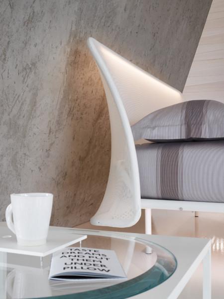 Flou White Room Setting contemporary