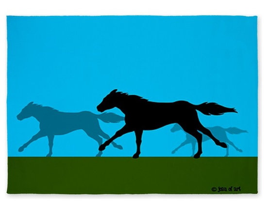 Horse Area Rug by Just Joani -