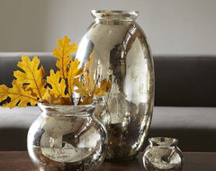 Mercury-Glass Vases modern vases