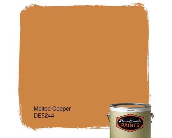 Dunn-Edwards Paints Melted Copper DE5244 -