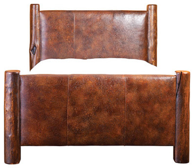 Flagger's Leather Bed beds