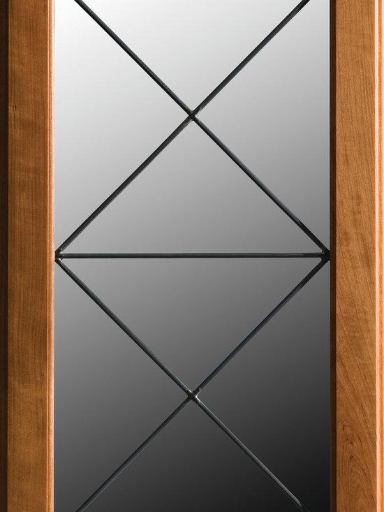 "Dura Supreme Cabinetry - Dura Supreme Cabinetry LG-45 Leaded Glass Cabinet Door. - Dura Supreme Cabinetry ""LG-45"" Leaded Glass Cabinet Door."
