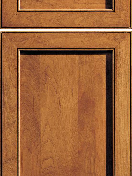 "Dura Supreme Cabinetry - Dura Supreme Cabinetry Madison Cabinet Door Style - Dura Supreme Cabinetry ""Madison"" cabinet door style in Cherry shown with Dura Supreme's ""Butternut"" with ""Coffee"" Glaze finish."