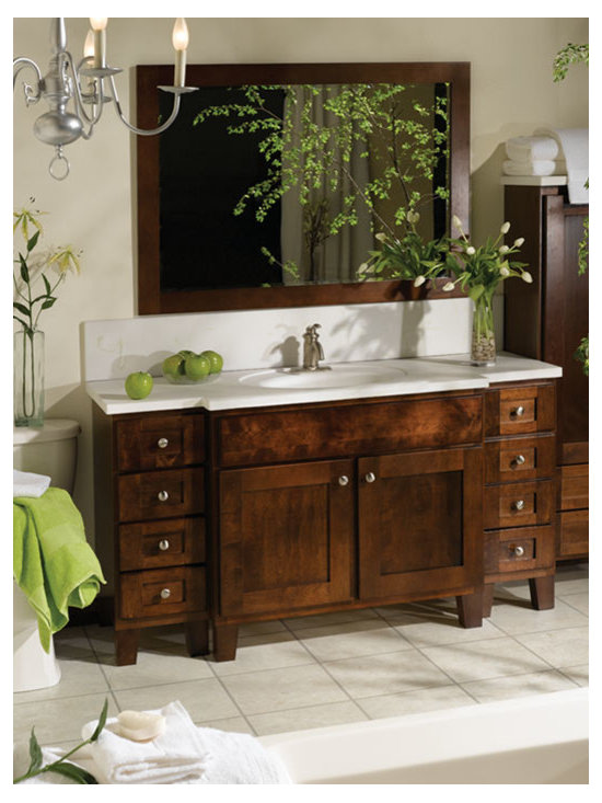 Osage Collection By Bertch - Available at SHOWROOM INC. 923 E. Roosevelt Rd. Lombard, IL 630 705 0150 Bertch vanities come in several different finishes and size