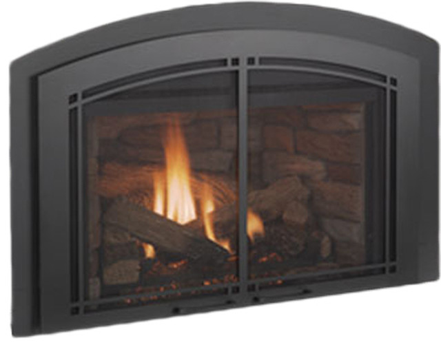 Vermont Castings Vc31ldviptsc Victory Direct Vent Insert Fireplace With Log Set Modern