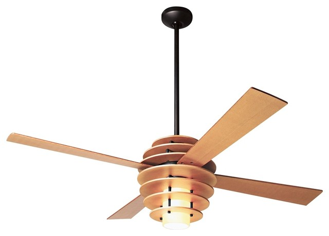 42 Modern Fan Stella Maple Bronze Ceiling With Light Contemporary Fans By