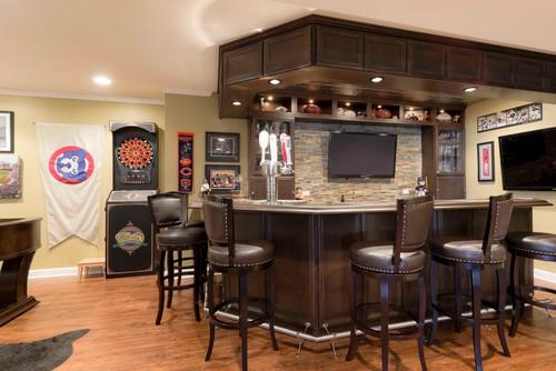 custom built unique basement wet bar design ideas. Black Bedroom Furniture Sets. Home Design Ideas