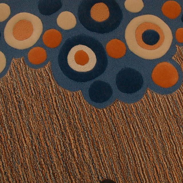 Moss, Hand-Tufted Wool Rug modern-rugs