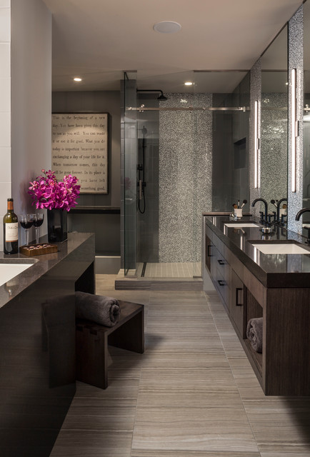Luxe loft bath contemporary bathroom minneapolis for Interior design minneapolis