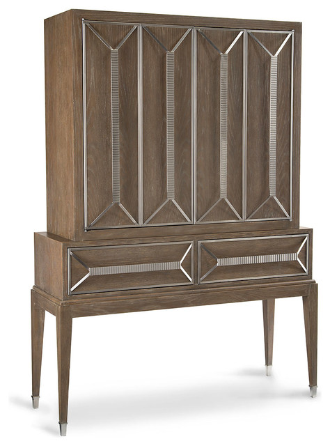 Luxe Cabinet on Stand transitional-storage-units-and-cabinets