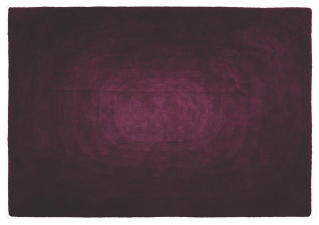 Blur Purple Fabric Rug contemporary-area-rugs
