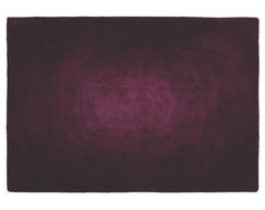 Blur Purple Fabric Rug contemporary rugs
