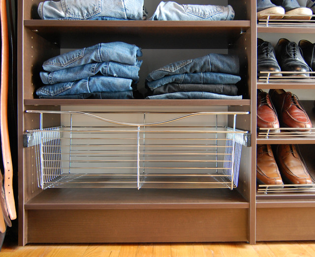 Small Walk-in Closet, Annapolis - Contemporary - dc metro - by Closet ...